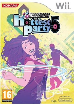 Dance Dance Revolution: Hottest Party 5 - Game Only (Wii)