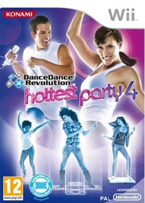 Dance Dance Revolution: Hottest Party 4 (Solus) (Wii)