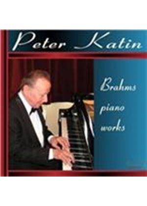 Brahms: Piano Works (Music CD)