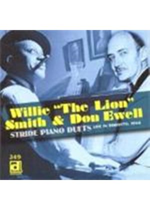 Willie The Lion Smith/Don Ewell - Stride Piano Duets - Toronto 1966