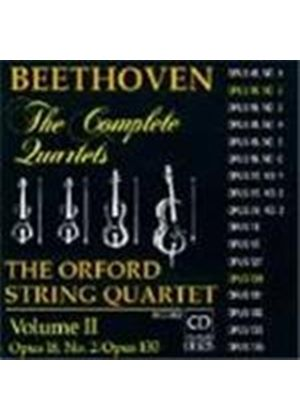 Beethoven: String Quartets, Vol.2