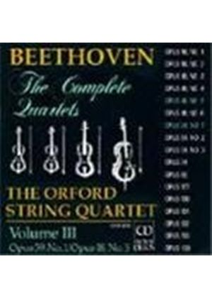 Beethoven: String Quartets, Vol.3