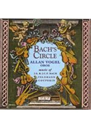 Bach/Telemann/Couperin - Bachs Circle, Oboe Works (Vogel, Tipton, Mabee, Chatfield) (Music CD)
