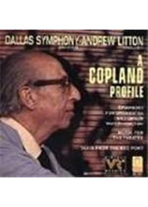 Copland: Organ Symphony/Red Pony/Music for the Theatre