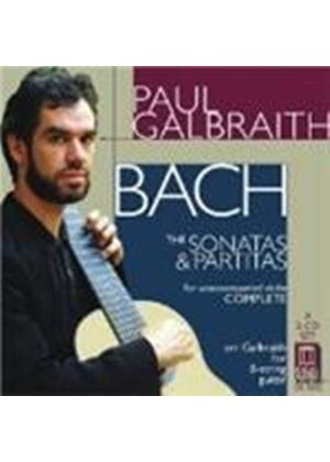 Bach: Sonatas and Partitas for unaccompanied violin arr. for guitar