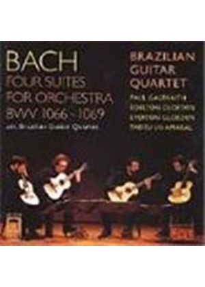 Bach: Orchestral Suites, BWV1066-9 (arr for Guitar Quartet)
