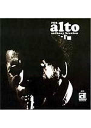 Anthony Braxton - For Alto (Music CD)