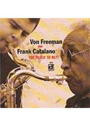 Frank Catalano - You Talkin' To Me (Music CD)