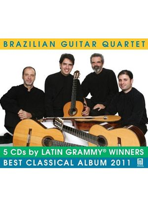 Brazilian Guitar Quartet (Music CD)