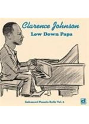 Clarence Johnson - Enhanced Piano Rolls Vol.2 (Low Down Papa) (Music CD)