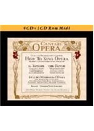 Cantare Opera - How to Sing Opera (Music CD)