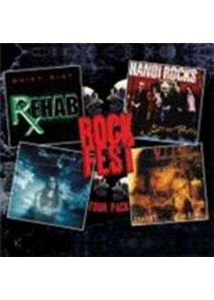 Various Artists - Rockfest (Four Pack) (Music CD)