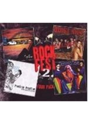 Various Artists - Rockfest Vol.2 (Four Pack) (Music CD)