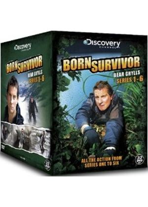 Bear Grylls - Born Survivor - Series 1-6 - Complete