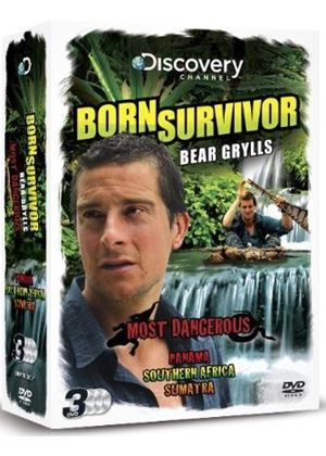 Born Survivor - Bear Grylls - Most Dangerous Triple Pack
