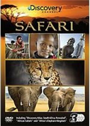 Discovery Channel Safari Triple Pack