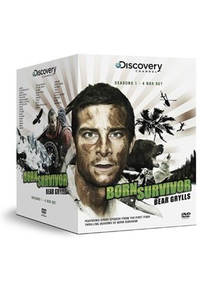 Bear Grylls - Born Survivor - Series 1-4