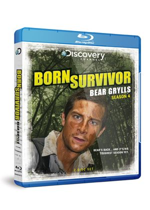Born Survivor - Bear Grylls - Season Four (Blu Ray)
