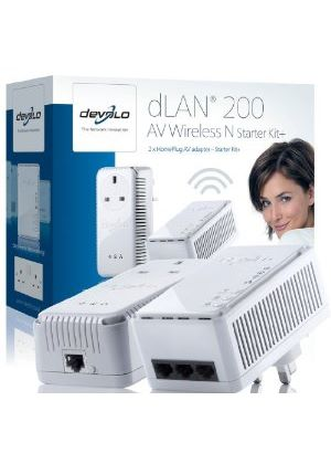 Devolo dLAN 200 AV Plus Wireless N Starter Kit