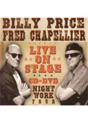Billy Price & Fred Chapellier - Live On Stage (+DVD)