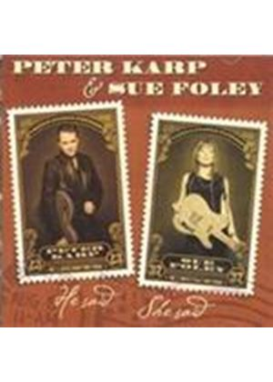 Peter Karp & Sue Foley - He Said She Said (Music CD)