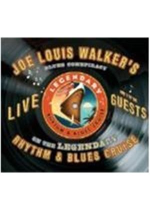 Joe Louis Walker & Blues Conspiracy - Live On The Legendary Rhythm And Blues Cruise (Music CD)
