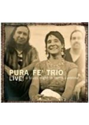 Pura Fe - Live - A Blues Night In North Carolina (Music CD)