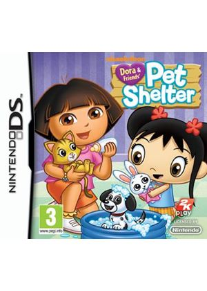 Dora & Friends' Pet Shelter (Nintendo DS)