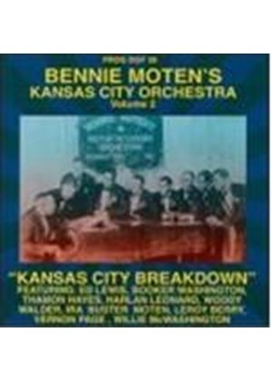 Bennie Moten's Kansas City Orchestra - Kansas City Orchestra Vol.2 (Music CD)