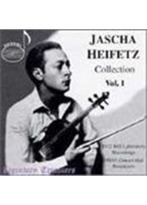 Jascha Heifetz Collection, Volume 1