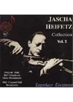 Jascha Heifetz Collection, Vol 2