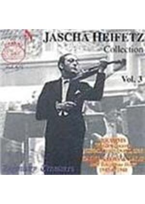 Jascha Heifetz Collection, Vol 3