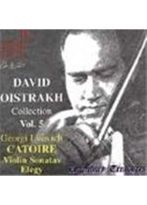 David Oistrakh Collection, Vol 5