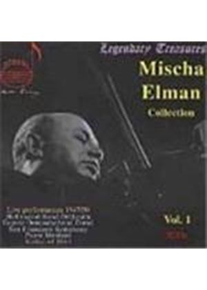VARIOUS COMPOSERS - Mischa Elman Collection Vol. 1 (Ormandy, Dorati, Monteux)