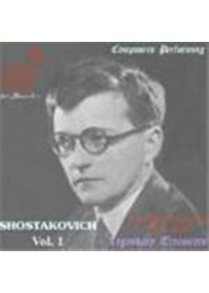 Composers Performing: Shostakovich, Vol 1