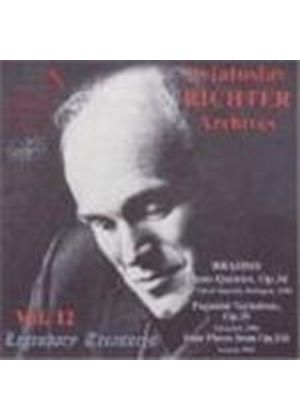 Sviatoslav Richter Archives, Vol 12