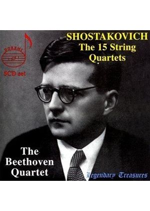 Shostakovich: (15) String Quartets