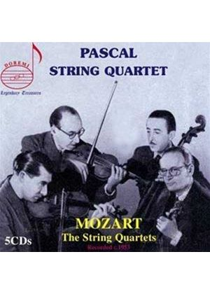 Mozart: The String Quartets (Music CD)