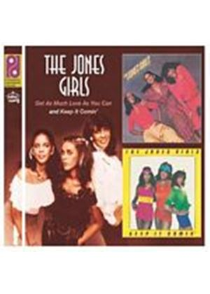 The Jones Girls - Get As Much Love As You Can/Keep It Comin (Music CD)