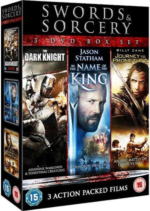 Swords & Sorcery (3 DVD Box Set) - In The Name of the King, Journey to Promethea, The Dark Knight)