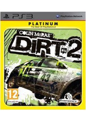 Colin McRae - Dirt 2 Platinum (PS3)