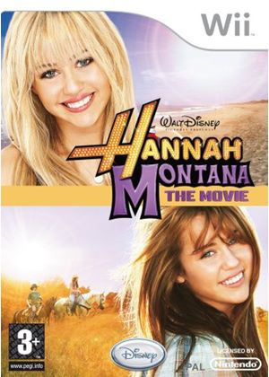 Hannah Montana - The Movie Game (Wii)