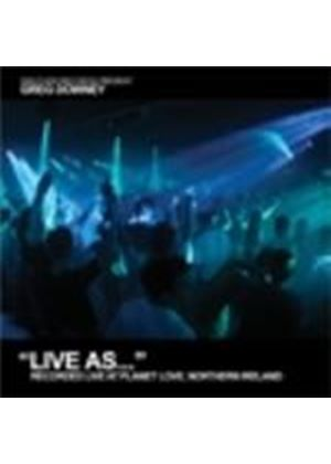 Various Artists - Live As... Vol.5 (Mixed Live By Greg Downey At Planet Love, N. Ireland) (Music CD)