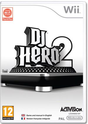 DJ Hero 2 (includes Turntable Controller & free copy of DJ Hero) (Wii)