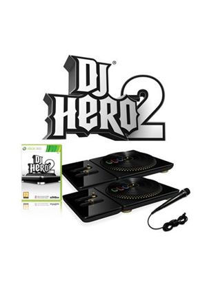 DJ Hero 2 (includes Two Turntable Controllers & Mic DJ Hero 2 (includes Turntable Controller) (XBox 360)