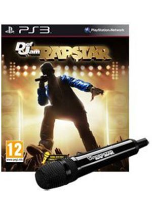 Def Jam - Rapstar - (with Microphone) (PS3)