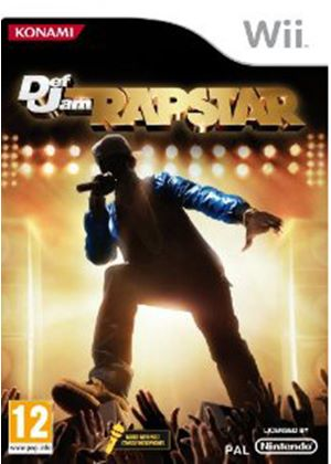 Def Jam - Rapstar - (with Microphone) (Wii)