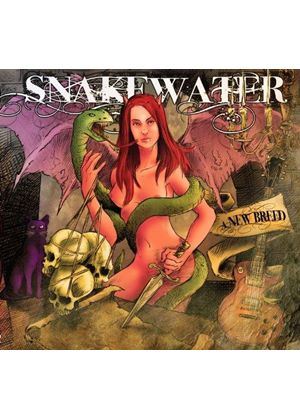 Snakewater - A New Breed (Music CD)
