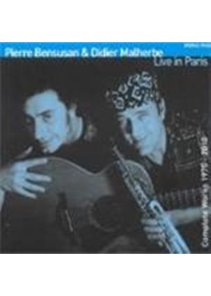 Pierre Bensusan - Live In Paris (Music CD)