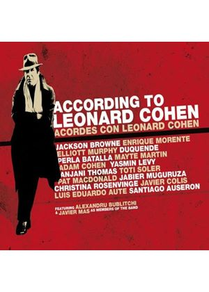 Various Artists - According to Leonard Cohen (Live Recording/+DVD)